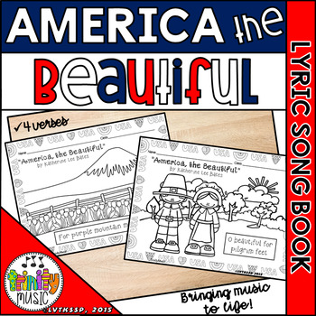 America the Beautiful (Picture Song Book)