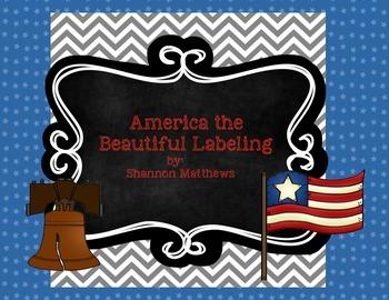 America the Beautiful Labeling