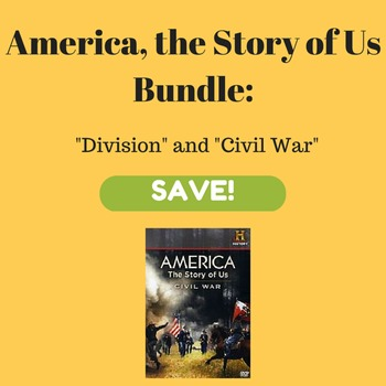 America, the Story of Us Worksheet Activities for Division