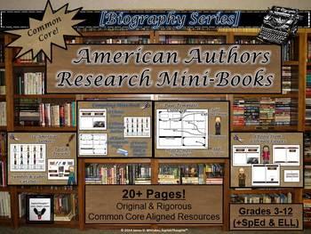 American Authors Research Mini-Books