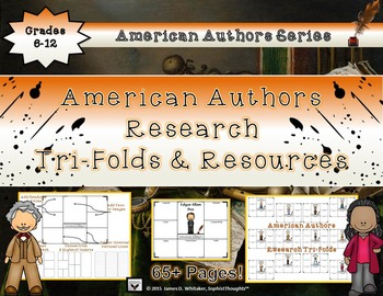 American Authors Research Tri-Folds and Resources
