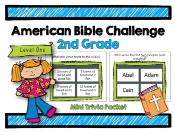 American Bible Challenge for Kids: Level One