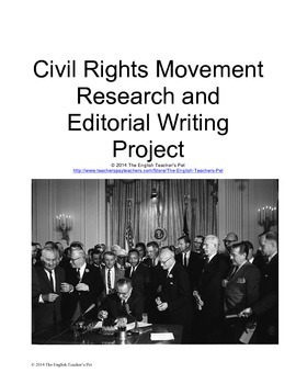 American Civil Rights Editorial Writing Project