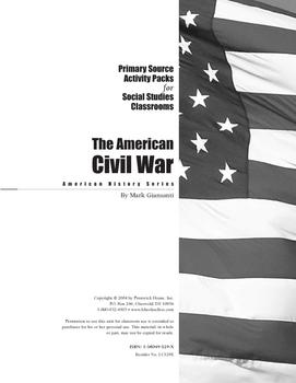 American Civil War Activity Pack