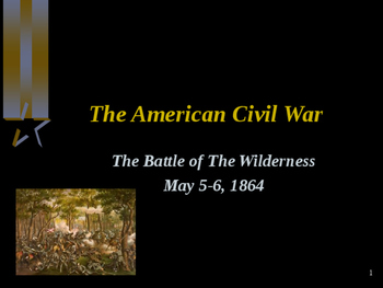 American Civil War - Battle of The Wilderness