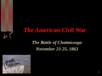 American Civil War - Battle of Chattanooga