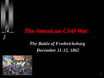 American Civil War - Battle of Fredericksburg