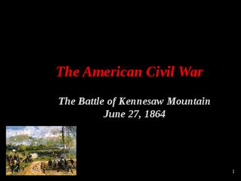 American Civil War - Battle of Kennesaw Mountain