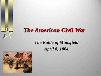 American Civil War - Battle of Mansfield