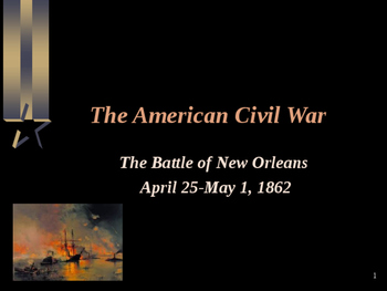 American Civil War - Battle of New Orleans