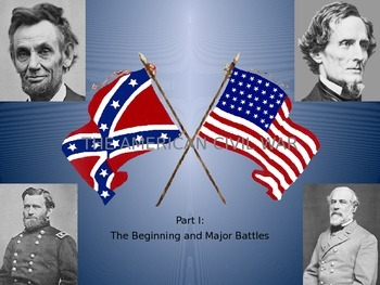 American Civil War Notes (Part 1)