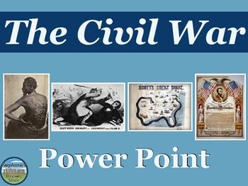 Civil War Power Point 1850-1865