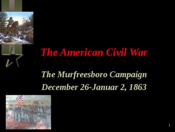 American Civil War - The Murfreesboro Campaign