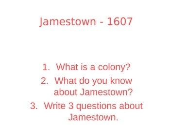 American Colonies: Jamestown Powerpoint