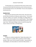 American Culture: Favorite Foods