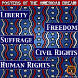 American Dream Posters -Fighting for Liberty, Freedom, & R