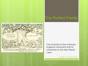 American Eugenics and the Connection to the Final Solution