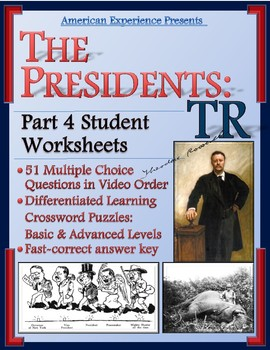 American Experience Theodore Roosevelt: Part 4 Worksheet a
