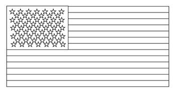 American Flag Coloring Sheets