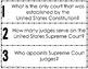 American Government: Supreme Court Fan & Pick {U.S. History}