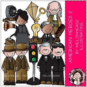 Melonheadz: American Heroes clip art Part 2 - COMBO PACK