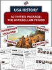 Western Expansion USA History Unit Bundle:  95+ Pages/Slid