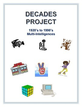 American History Decades Projects
