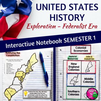 American History Interactive Notebook Exploration - Federa