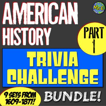 American History Trivia Challenge Bundle! Complete Set of