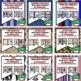 American History Word Wall BUNDLE -418 Pennants (American