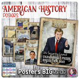 American History Event Posters Growing Bundle