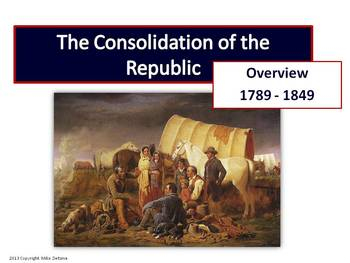 Westward Expansion and Antebellum Period (1789 - 1850): An