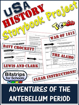 Andrew Jackson and more Storybook Project: Multiple Engagi