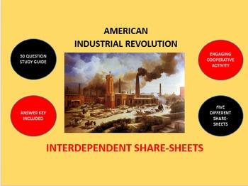 American Industrial Revolution: Interdependent Share-Sheet