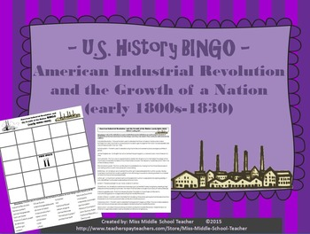 American Industrial Revolution and the Growth of a Nation
