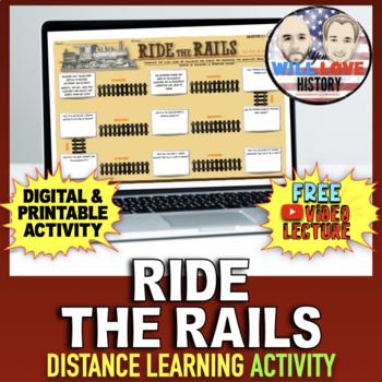 American Railroads: Ride the Rails Activity