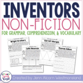 American Inventors Nonfiction Texts for Comprehension, Gra