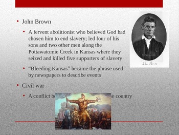 American Journey Chapter 15 Road to Civil War
