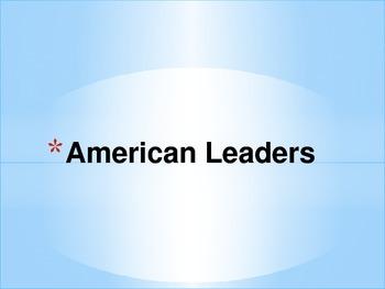 American Leaders Grade 3