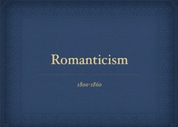American Literary Periods: Romanticism Notes