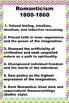 American Literature Timeline Posters Chevron