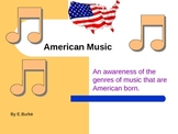 American Music, The Genres