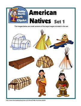 American Natives Set 1