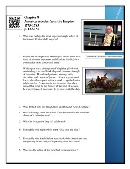 American Pageant Chapter 8 Reading questions