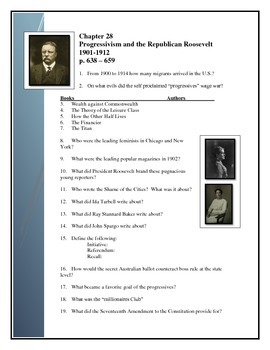 American Pageant reading questions chapter 28