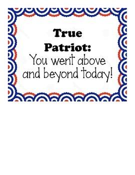 American Patriotic Theme Pack