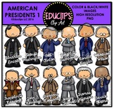 American Presidents 1 Clip Art Bundle