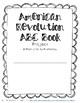 American Revolution ABC Book Research Project