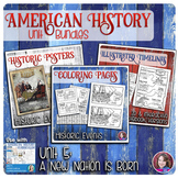A New Nation is Born Activities Bundle