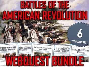 American Revolution - Battles of the American Revolution -